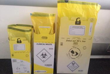 PACKAGING RANGE FOR HEALTHCARE WASTE