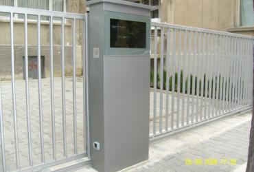 Two sliding gates to replace obosolete swing gates