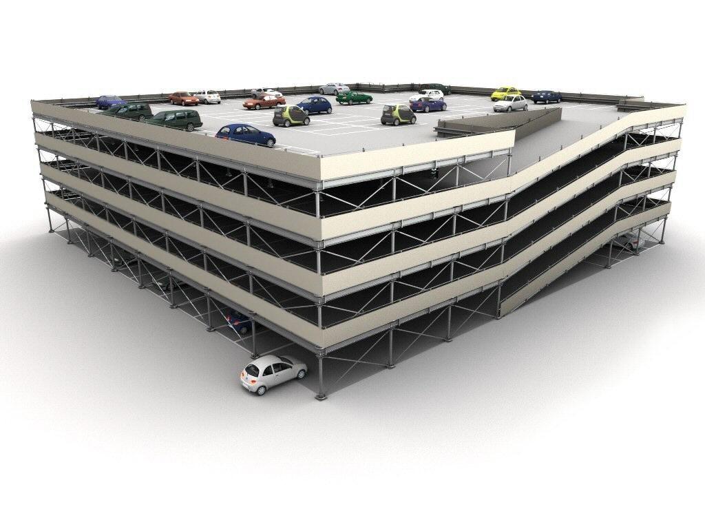 Modular multilevel surface parking