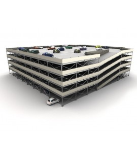 Modular multilevel surface parking