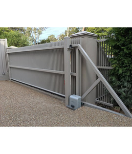 Automation for cantilever gate