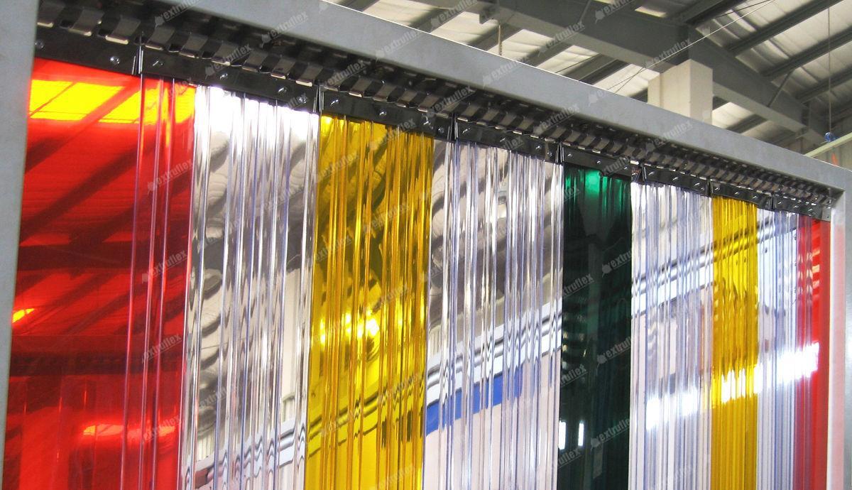 Цветни прозрачни ПВЦ ленти