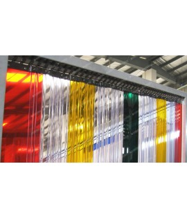 Transparent Coloured PVC