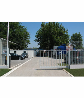Automation system for sliding gate with weight up to 400kg