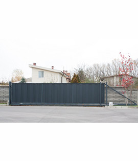 Automation system for sliding gate with weight up to 1600kg